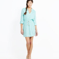 Catch of the Day Shirt Dress