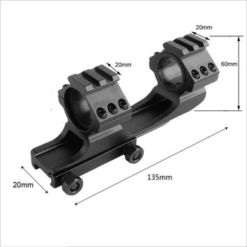 Quick Release Scope Mount 25.4mm 30mm Dual Ring Cantilever Heavy Duty Rifle scope Mount Picatinny Weaver Rail Hunting accessory