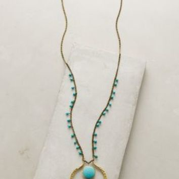 Lena Bernard Sonali Turquoise Pendant Necklace in Turquoise Size: One Size Necklaces