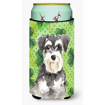 Shamrocks Schnauzer #2 Tall Boy Beverage Insulator Hugger CK1796TBC