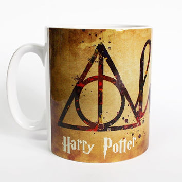 Harry Potter Deathly Hallows Always 2 Mug Harry Potter Mug Coffee Mug Harry Potter Cup Tea Mug Birthday Gift Deathly Hallows Always Art