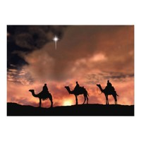 Nativity Scene Gifts for Christmas Card