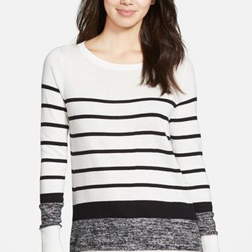 Women's Halogen Side Zip Sweater,