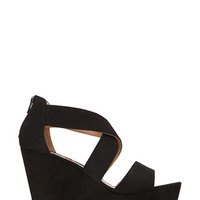 FOREVER 21 Strappy Wedge Sandals