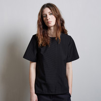 Boxy Pinstriped Tee by Alexander Wang