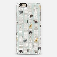 urban jungle silver mint iPhone 6s case by Sharon Turner | Casetify