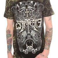 Escape The Fate Choose Your Fate Allover Print T-Shirt