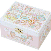 Little Twin Stars Kiki Lala Orgel Music Box Jewelry Box Room Series SANRIO JAPAN