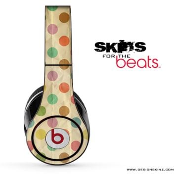 Vintage Polka Dotted Skin for the Beats by Dre