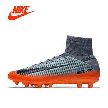Original Nike New Arrival MERCURIAL CR7 Outdoor High Soccer Shoes