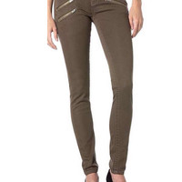 Miss Me Mid-Rise Skinny Jeans - Olive