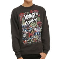 Marvel Comics Characters Sweatshirt