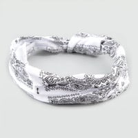 Full Tilt Stretch Knotted Bandana White One Size For Women 20286515001