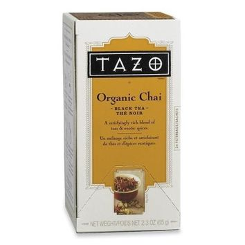 Starbucks Coffee Tazo Chai Spice Tea, 24-BX - CASE OF 4