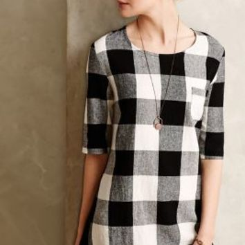 Newsprint Plaid Tunic by Sunday in Brooklyn