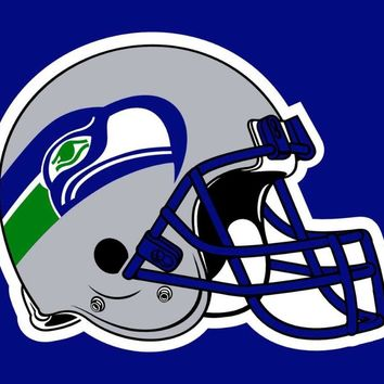 Seattle Seahawks Flag Helmet Flag 3x5ft
