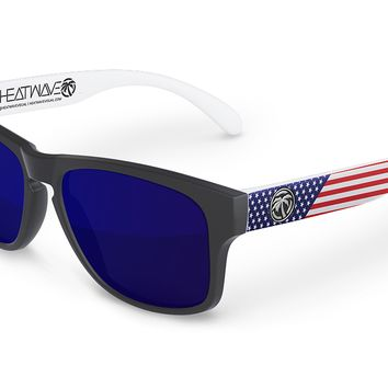 Cruiser Sunglasses: Stars & Stripes Traditional USA Customs