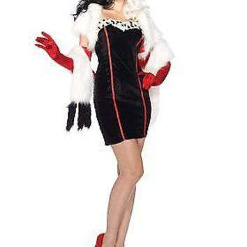 Womens Disney Cruella Costume