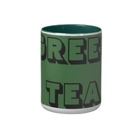 CUSTOMIZED GREEN TEA MUG
