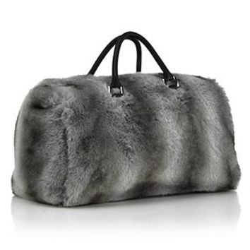 Natasha Fur Bag | Soft & Luxurious Gifts | Gifts | Z Gallerie