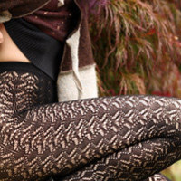 Codori Crochet Tights