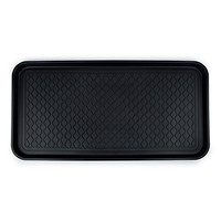 """Multi-purpose Tray High Quality Boot Mat for Shoes or Pet Food Feeding, Best Home Floor Protection, 30"""" X 15"""" X 1.2"""""""