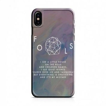 Troye Sivan Fools Lyrics iPhone X Case