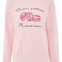 'Petit Macaron' Sweat Top by Tee & Cake - New In Fashion - New In