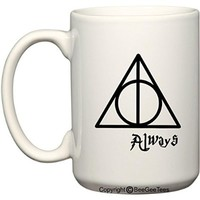 ALWAYS Harry Potter Coffee or Tea Cup 15 oz Mug for Wizards by BeeGeeTees®