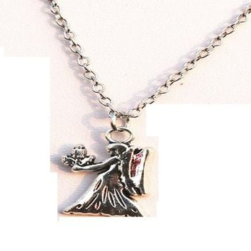 Angel Steampunk Fashion Necklace For Women