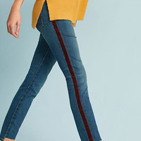 Current/Elliott The Stiletto Mid-Rise Skinny Step-Hem Jeans