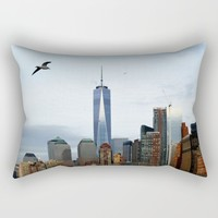 New York Rectangular Pillow by Haroulita | Society6
