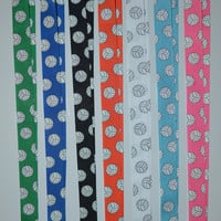 Volleyball Lanyards in a Variety of Color Choices