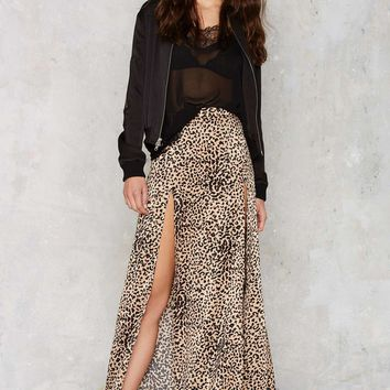 Cheetahs Always Win Maxi Skirt