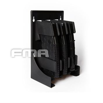 2018 Tactical Gun Mag Storage Solutions 30-round Rifle Magazine Holder Rack For 223 and 5.56 Caliber