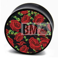 90's Roses BMA Plugs (2.5mm-60mm)