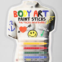 NPW Body Art Paint Stick - Set of 6