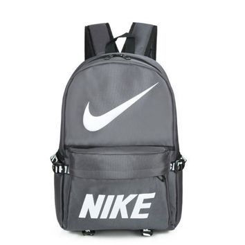High Quality Nike Print Unisex School Bag Travel Bag Laptop Backpack