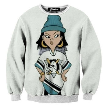 Ashley and the Mighty Ducks Crewneck