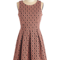 ModCloth Mid-length Sleeveless A-line Spice and Easy Dress