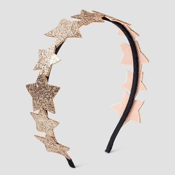 Girls' Glitter Stars Headband Cat & Jack™ - Pink