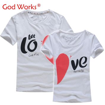 Lovers T Shirt For Couples