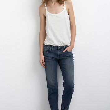 KARLY CROPPED STRAIGHT LEG JEAN