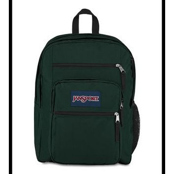 JanSport - Big Student Pine Grove Green Backpack
