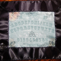 Ouija Board Altar Cloth - Communicate with Otherworld Beings - Contact the Dead - Choice of Cotton or Silk Fabric