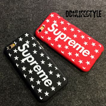 Stylish SUPREME Case for iPhone 7 8 Plus X