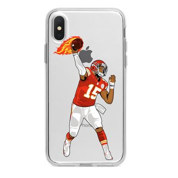 PATRICK MAHOMES CHIEFS CUSTOM IPHONE CASE