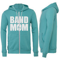Band Mom Zipper Hoodie