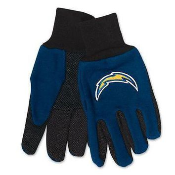 NFL San Diego Chargers Team Sport Utility Gloves Football