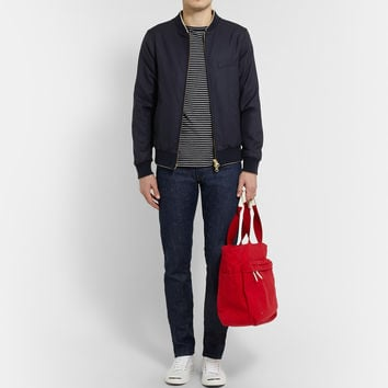 Gant Rugger - Hopsack-Wool Bomber Jacket | MR PORTER